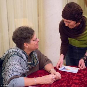 Сестры сестричества Елизаветы и Варвары побывали на встрече с духовной дочерью митрополита Антония Сурожского - Федерикой де Грааф