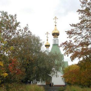 Информация о начале работ по благоустройству территории вокруг храма