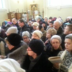 Паломничество братства трезвости и сестер Покровского сестричества к матушке Ксении Петербургской