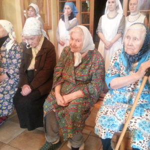 Столетие Клавдии Строговой - насельницы Покровской богадельни в Сергиево