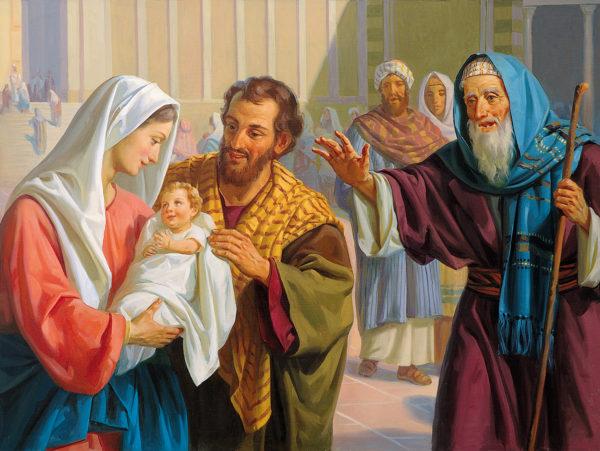 Сретение или встреча с Богом