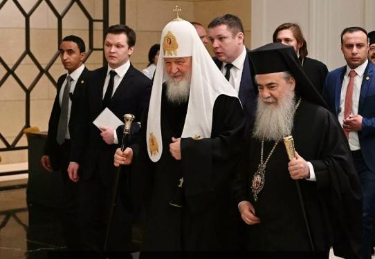 Встреча Предстоятелей Поместных церквей в Аммане