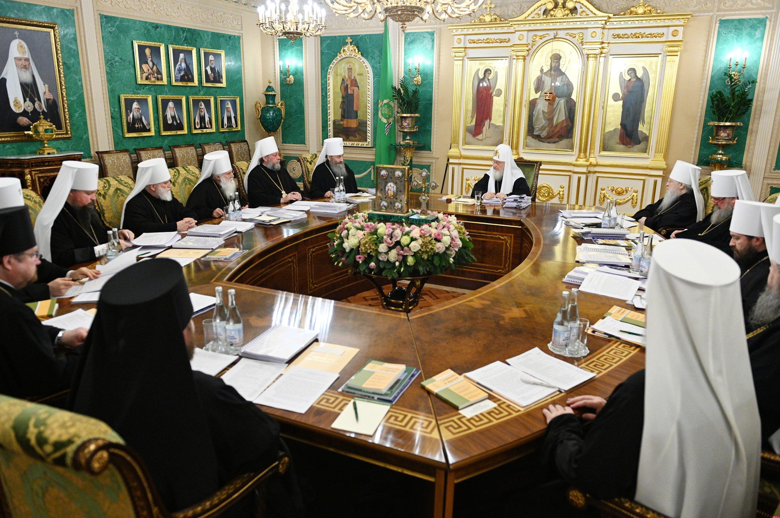 Заседание Священного Синода 2020