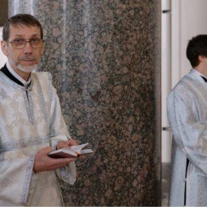 Поздравляем дорого отца Алексия с иерейской хиротонией