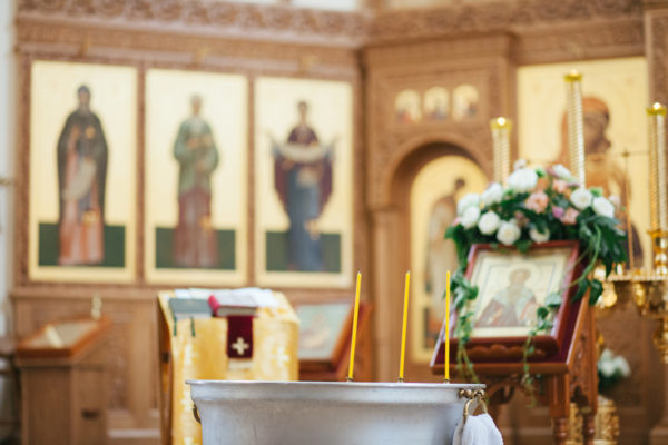 Беседы перед крещением апрель - май