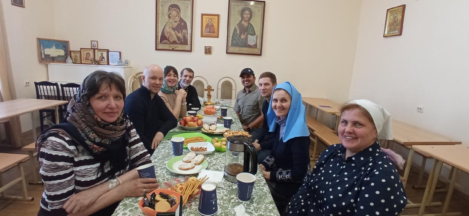 Встреча волонтеров Покровской богадельни.