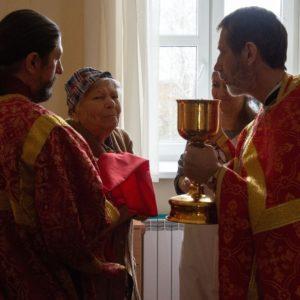 Пасхальная сестринская литургия. Храм прмч. Андрея Критского