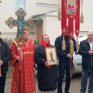 Пасха в храме прмч. Андрея Критского. Поздняя литургия и Крестный ход