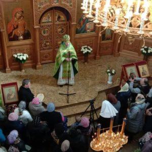 Вербное воскресенье в храме ств. Иоанна Милостивого