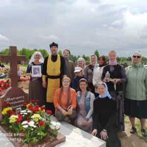 Годовщина памяти р.Б. Маргариты Чибышевой, свечницы храма свт. Иоанна Милостивого