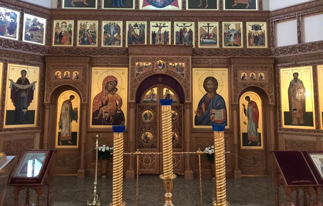 Новости благоустройства храма свт. Иоанна Милостивого