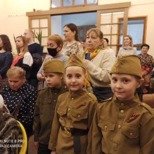 В Покровской богадельне прошел праздничный концерт-приношение к Светлому празднику Воскресения Христова и Дню Победы