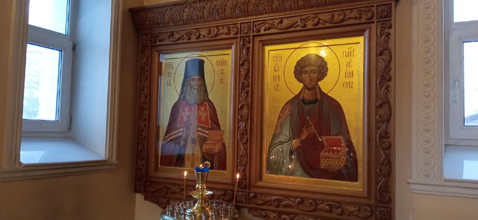Новости благоукрашения храма свт. Иоанна Милостивого в Южно-Приморском парке