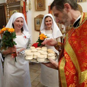 В Покровском сестричестве при Покровской богадельне состоялось посвящение новых сестер милосердия