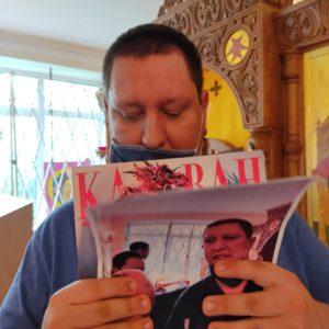 Продолжается череда Пасхальных богослужений в домовом храме при ПНИ N7