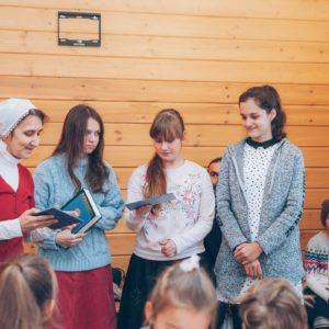 Состоялся первый выпуск детского отделения Воскресной школы
