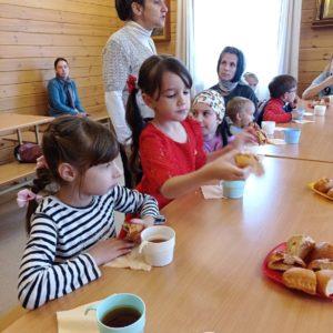 Праздник Рождества Пресвятой Богородицы в Воскресной школе имени святителя Иоанна Милостивого